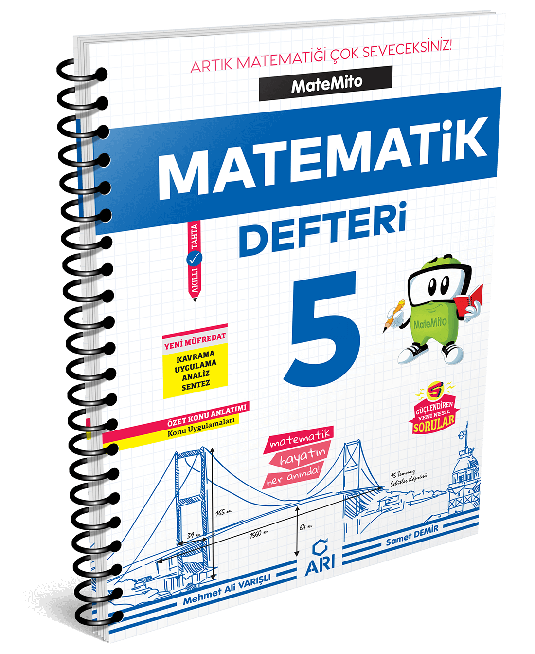 Matemito Matematik Defteri 5. Sınıf