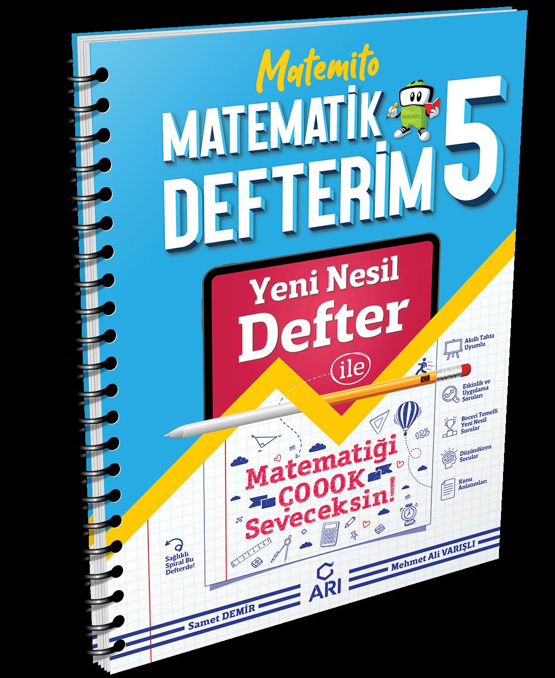 Matemito Matematik Defterim 5. Sınıf