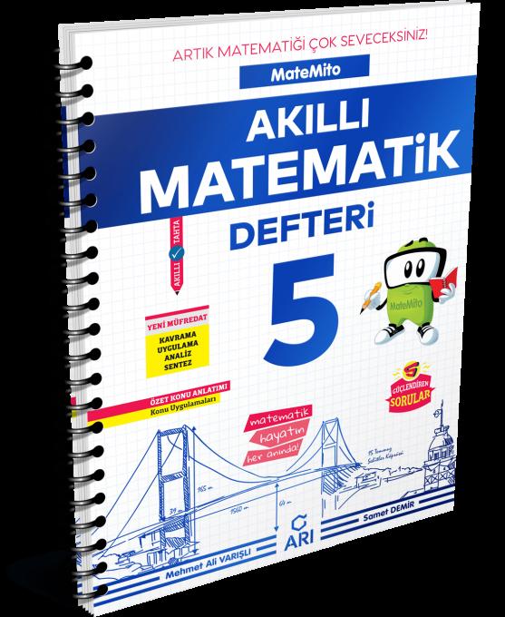 Matemito Akıllı Matematik Defteri 5 Sınıf Arı Yayın Arı