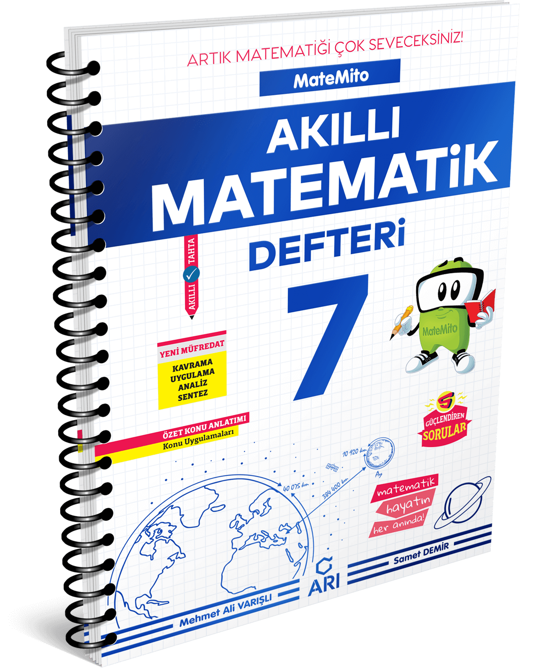 Matemito Akıllı Matematik Defteri 7. Sınıf