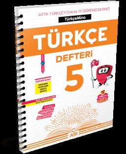 TürkçeMino Türkçe Defteri 5. Sınıf