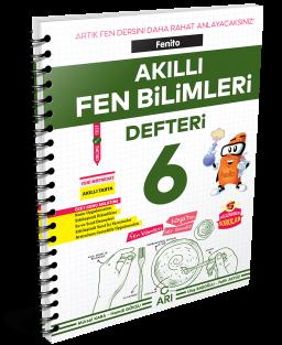 Fenito Akıllı Fen Bilimleri Defteri 6. Sınıf