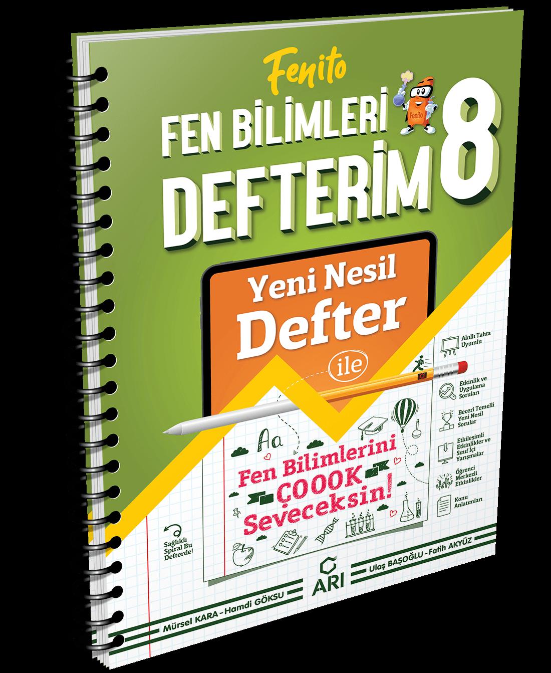 Fenito Fen Bilimleri Defterim 8. Sınıf