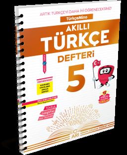 TürkçeMino Akıllı Türkçe Defteri 5. Sınıf
