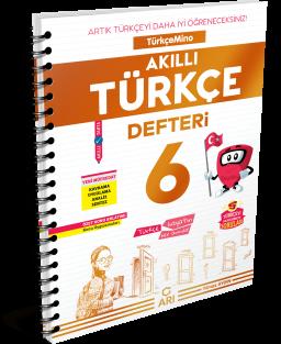 TürkçeMino Akıllı Türkçe Defteri 6. Sınıf
