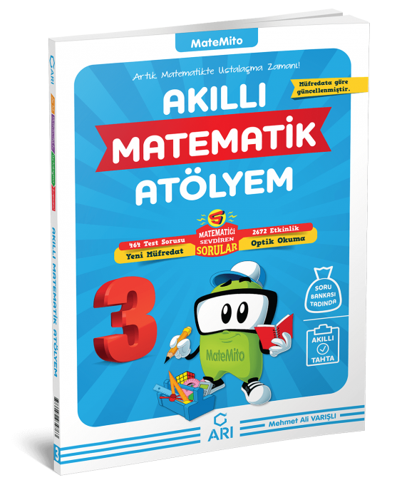 Matemito Akilli Matematik Atolyem 3 Sinif Ari Yayin Ari