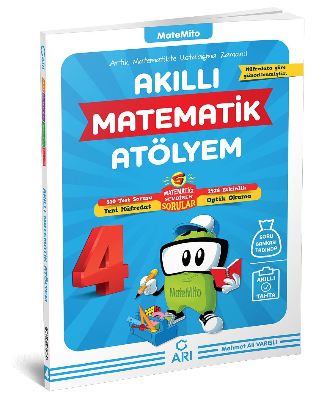 Matemito Akilli Matematik Atolyem 4 Sinif Ari Yayin Ari