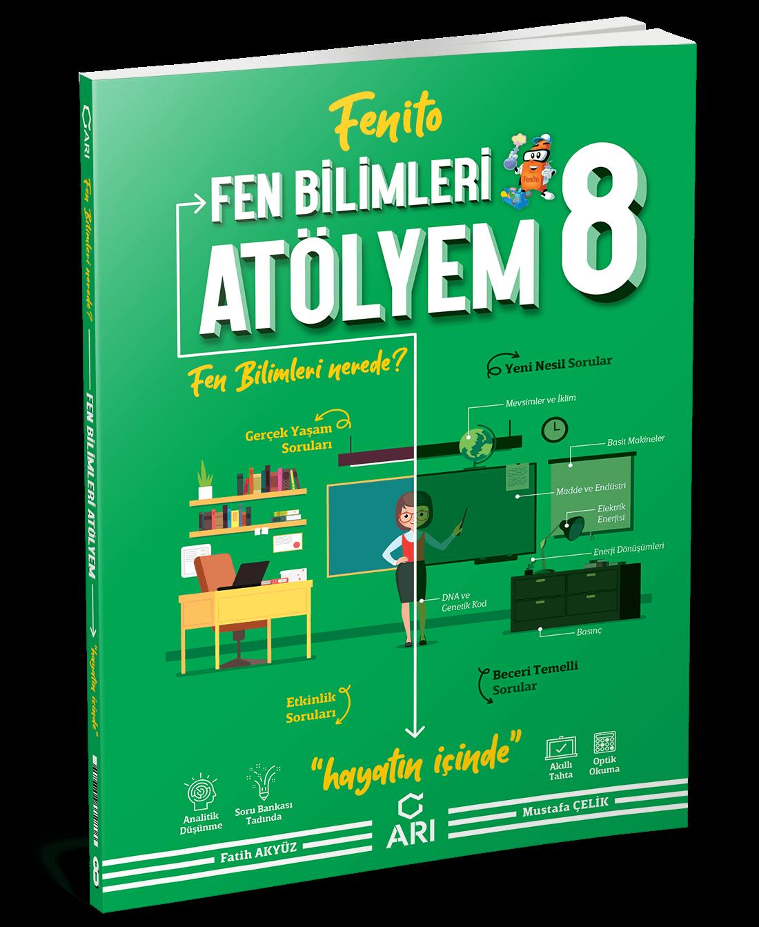 Fenito Fen Bilimleri Atölyem 8. Sınıf