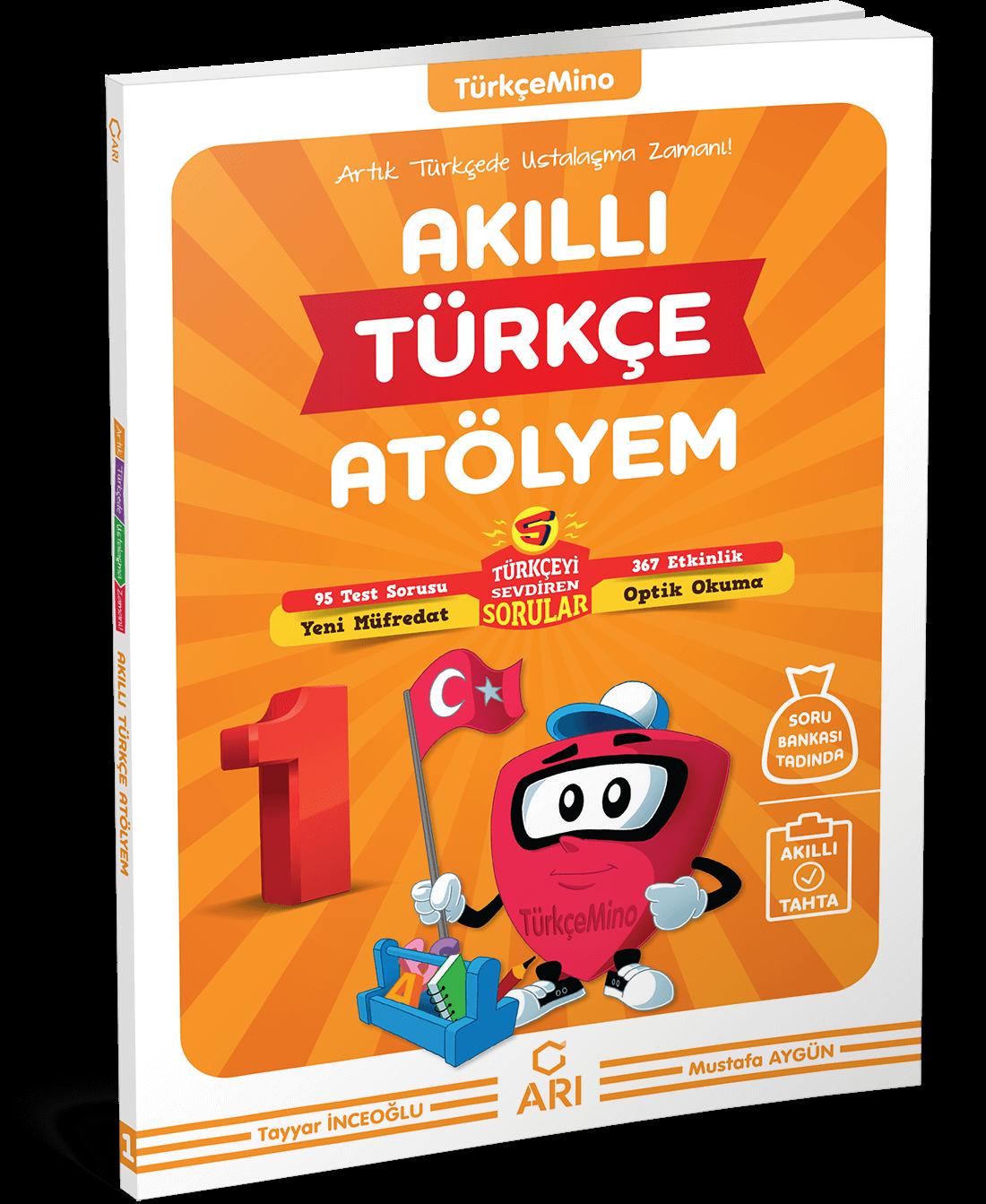 TürkçeMino Akıllı Türkçe Atölyem 1. Sınıf