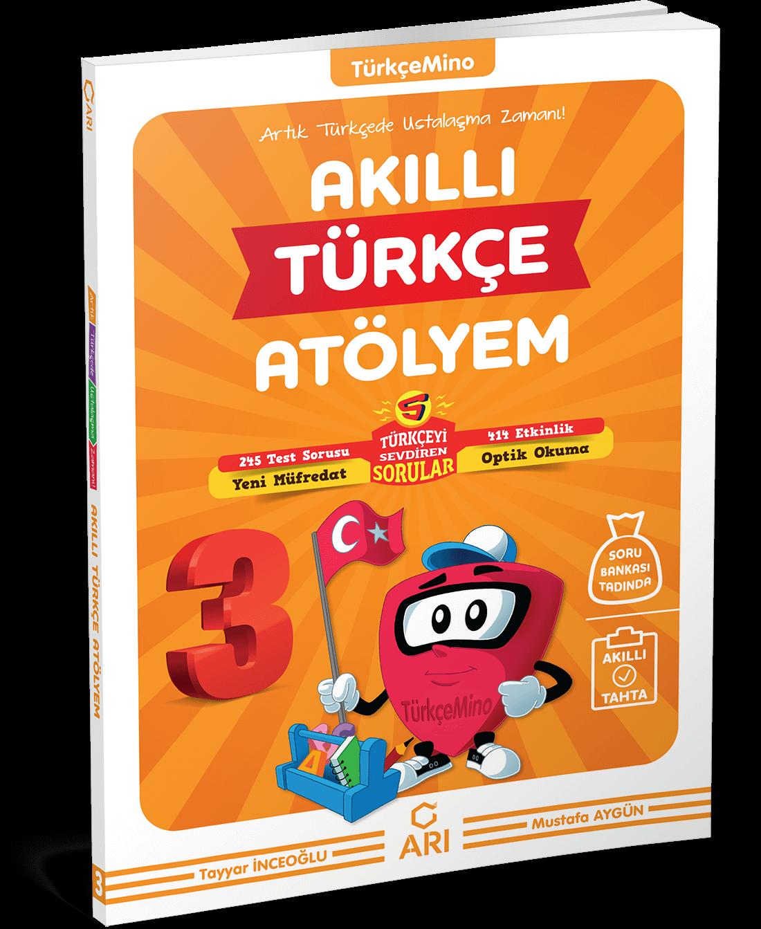 TürkçeMino Akıllı Türkçe Atölyem 3. Sınıf