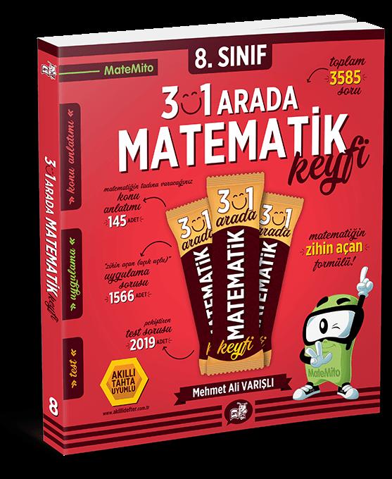Matemito 3'ü 1 Arada Matematik Keyfi 8.Sınıf