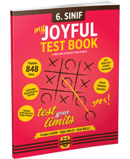 My Joyful Test Book 6. Sınıf