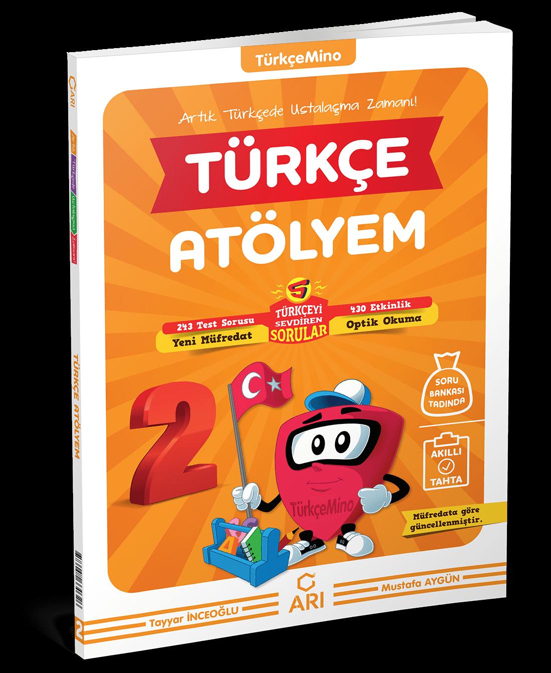 TürkçeMino Türkçe Atölyem 2. Sınıf