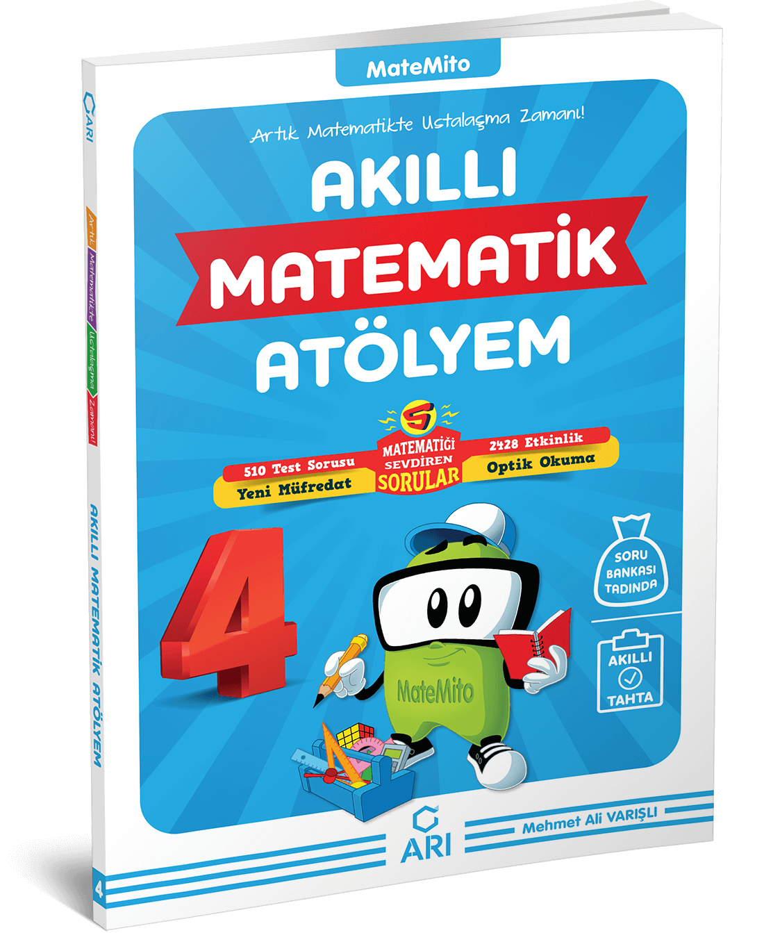 Matemito Akıllı Matematik Atölyem 4.Sınıf