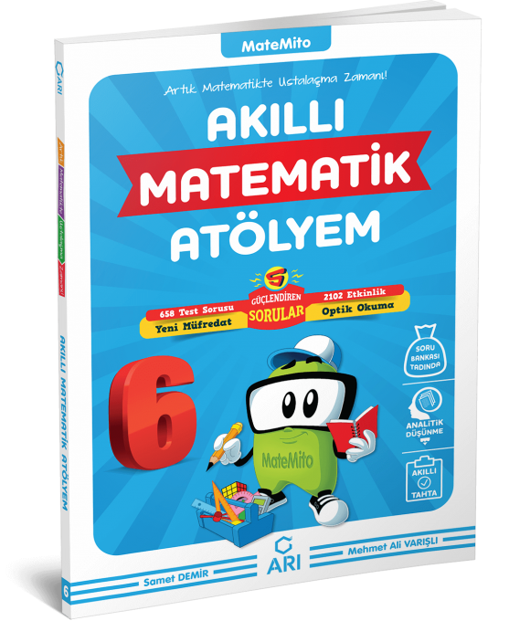 Matemito Akıllı Matematik Atölyem 6sınıf Arı Yayın Arı
