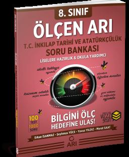 Ölçen Arı TC. İnkılap Tarihi ve Atatürkçülük Soru Bankası 8. Sınıf (LGS Hazırlık)