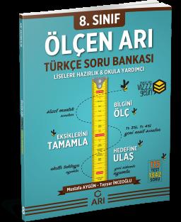 Ölçen Arı Türkçe Soru Bankası 8. Sınıf (LGS Hazırlık)