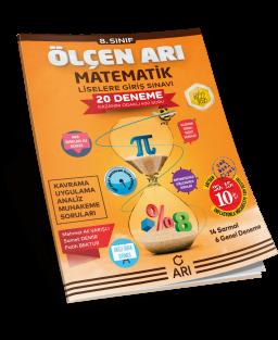 Ölçen Arı Matematik Deneme Sınavı 8. Sınıf (LGS Hazırlık)