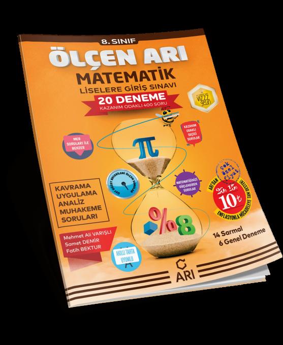 ölçen Arı Lgs Matematik Deneme Seti 8 Sınıf Arı Yayın Arı