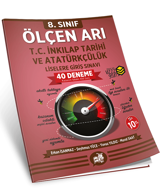 Ölçen Arı TC. İnkılap Tarihi ve Atatürkçülük Deneme Seti 8. Sınıf