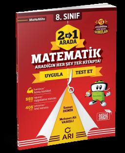 8.Sınıf Matemito 2'si 1 Arada Matematik