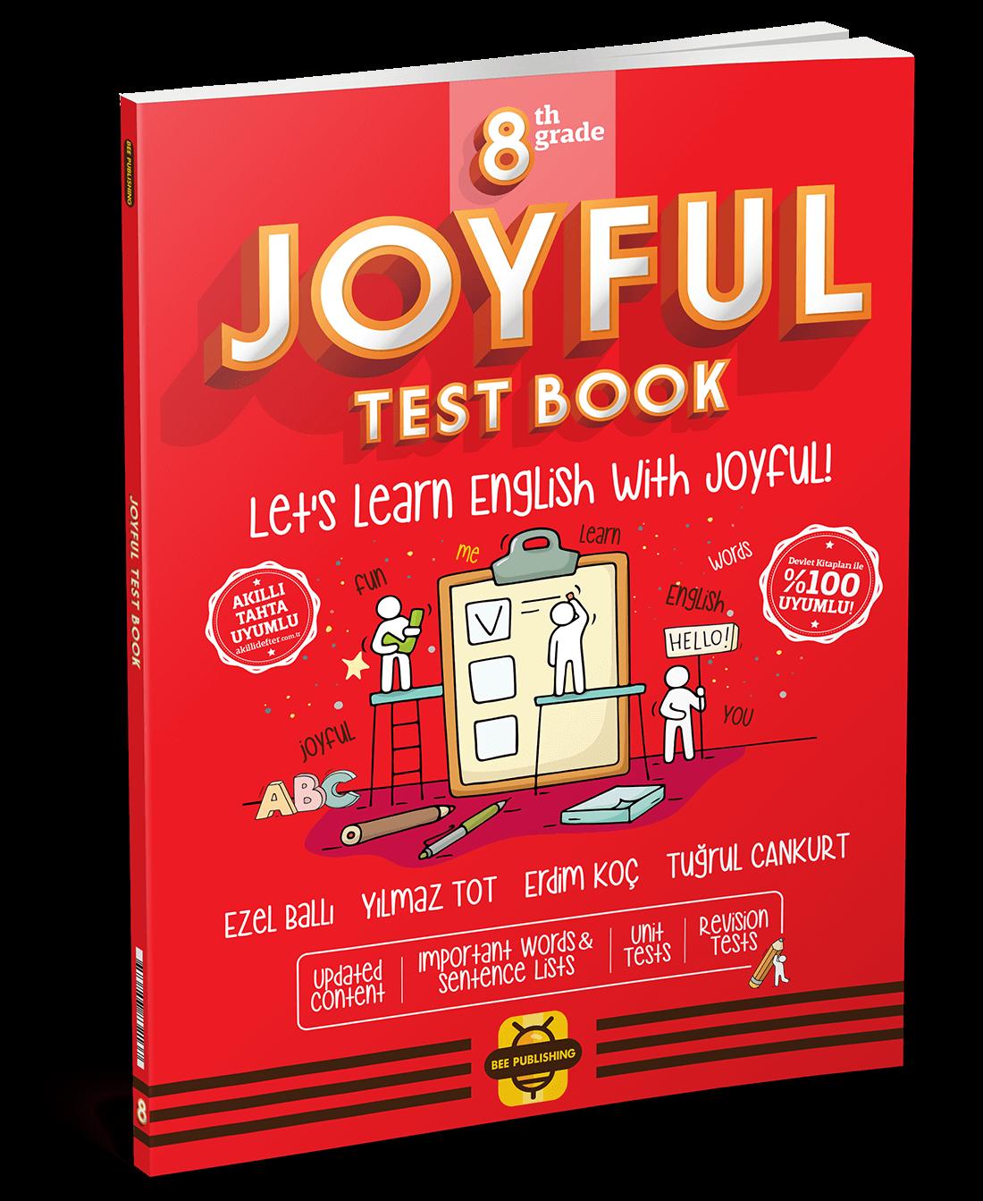 8. Sınıf Joyful Test Book