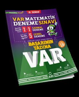 VAR Matematik Deneme Sınavı 6. Sınıf