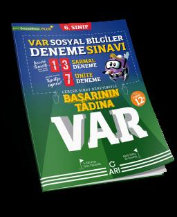 VAR Sosyal Bilgiler Deneme Sınavı 6. Sınıf