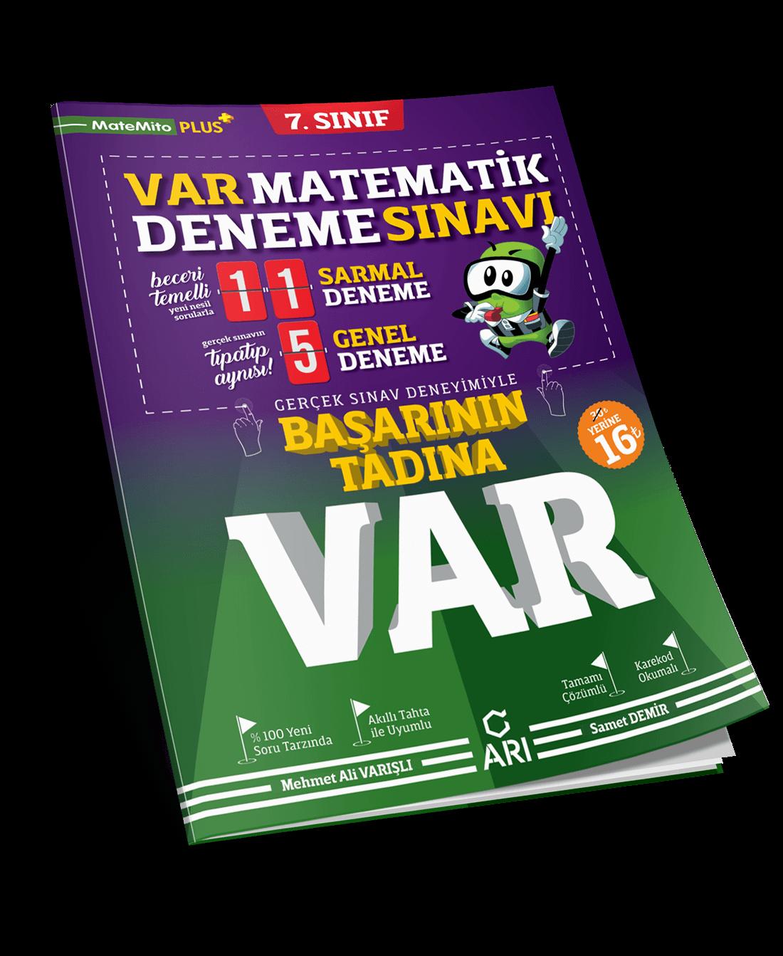 VAR Matematik Deneme Sınavı 7. Sınıf