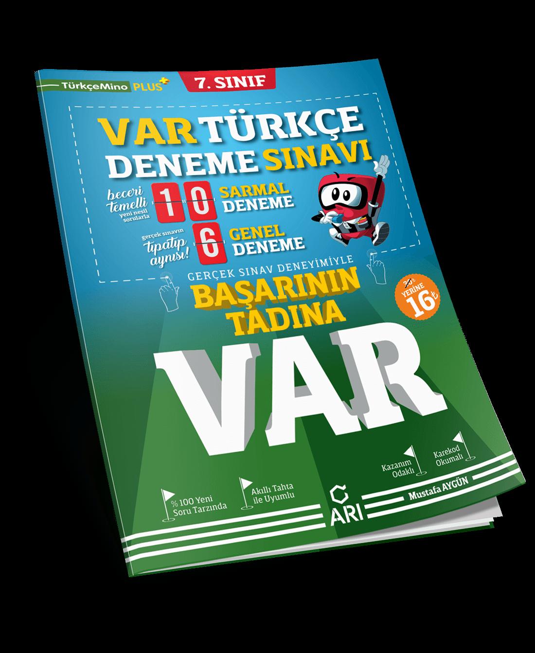 VAR Türkçe Deneme Sınavı 7. Sınıf