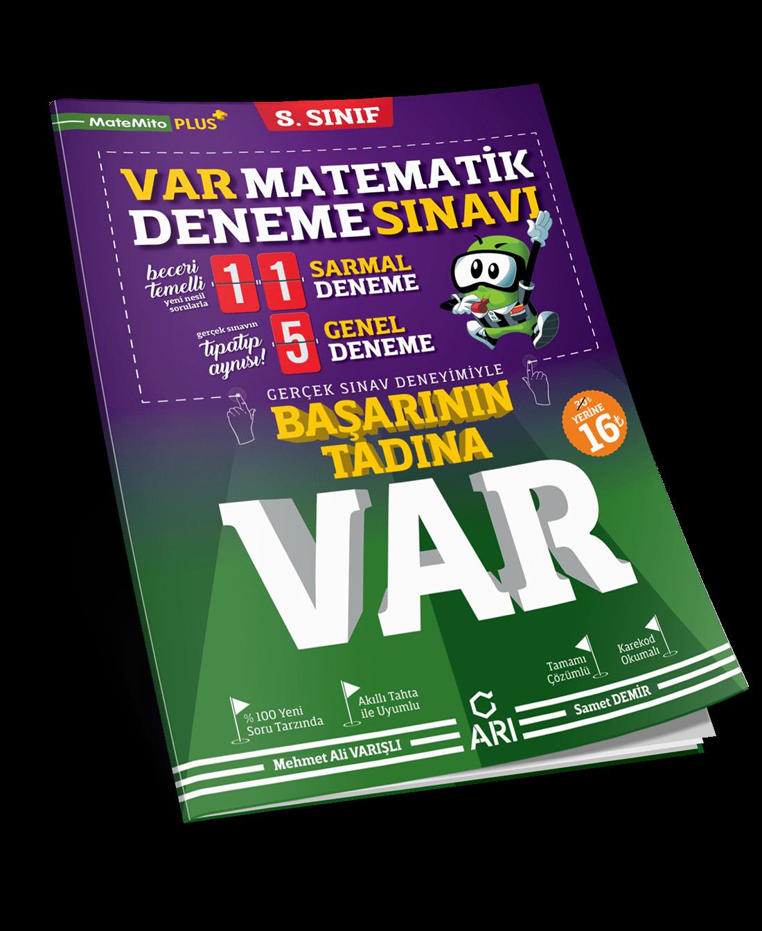 VAR Matematik Deneme Sınavı 8. Sınıf