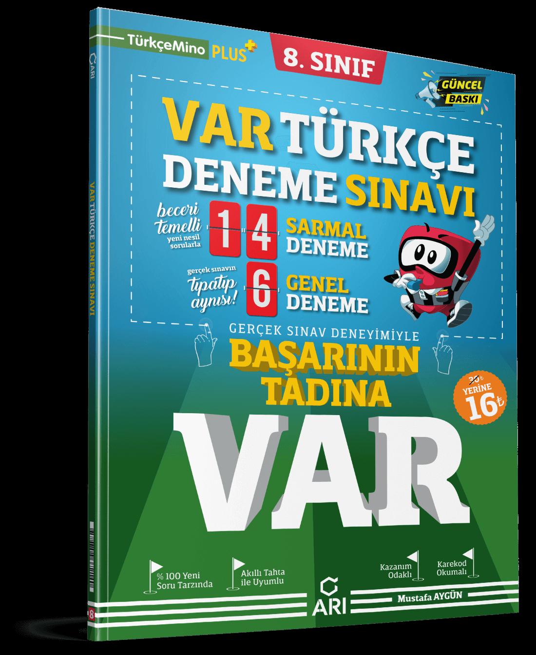 VAR Türkçe Deneme Sınavı 8. Sınıf