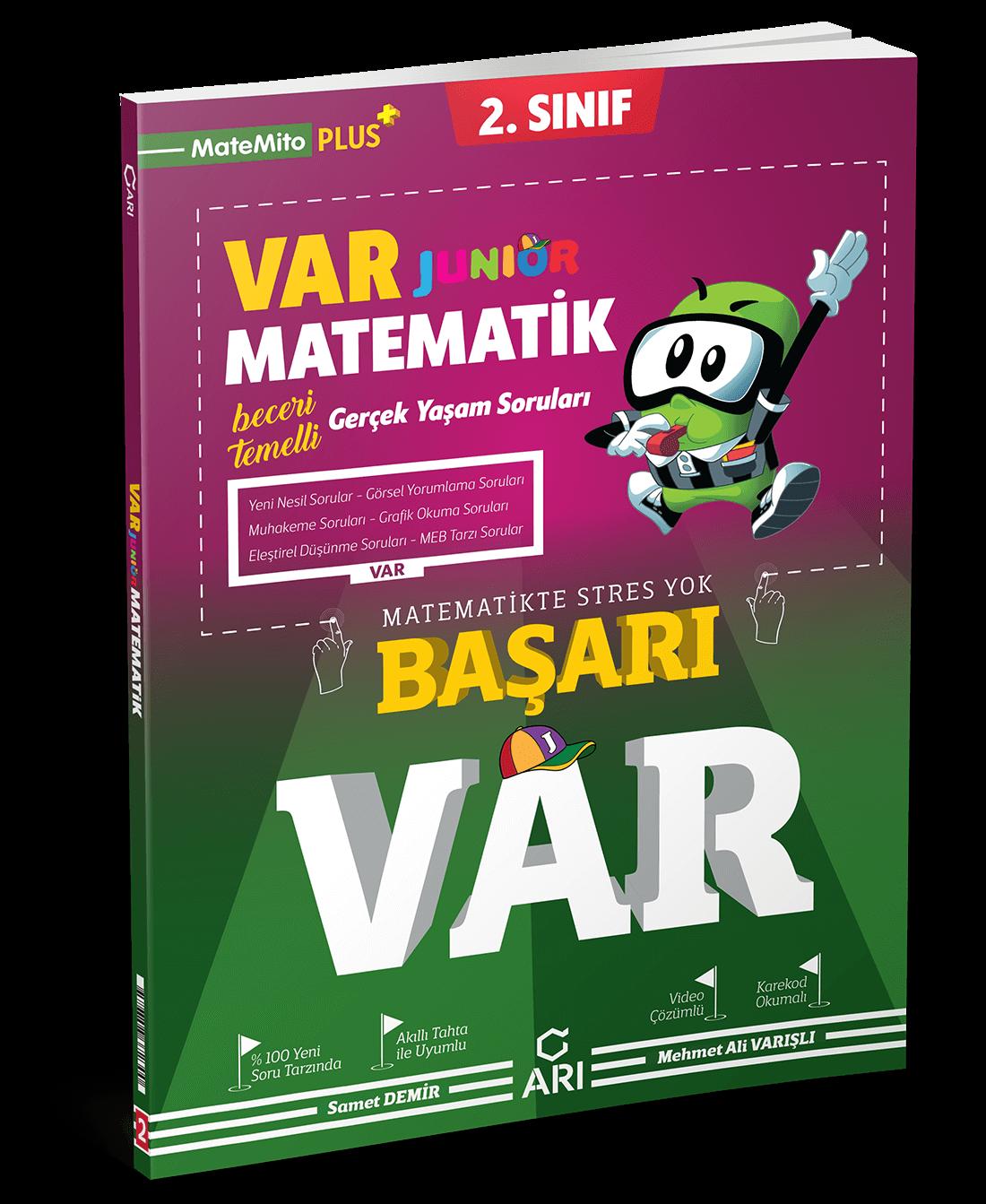 VAR Junior Matematik Soru Bankası 2. Sınıf