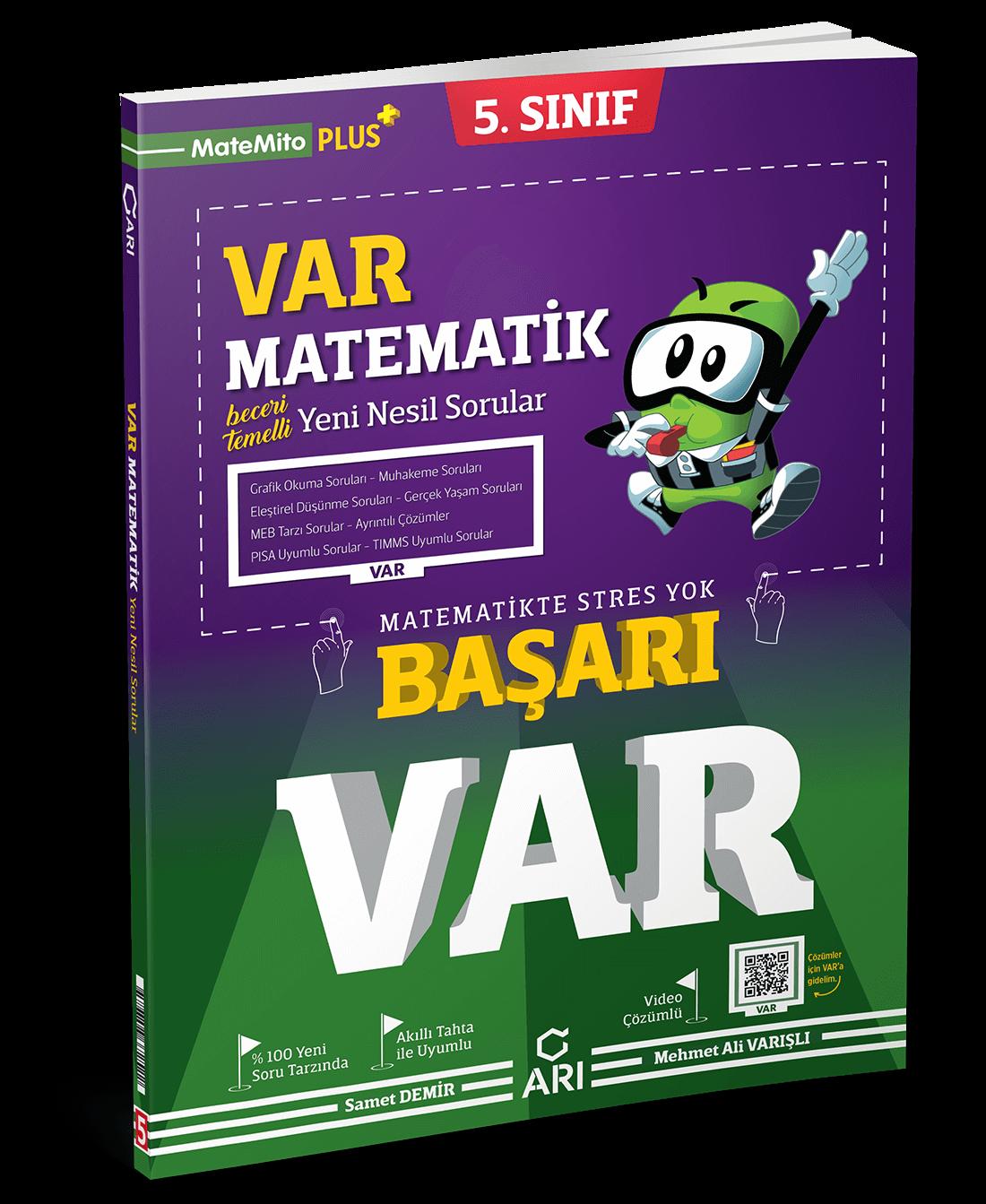 5. Sınıf VAR Matematik Yeni Nesil Soru Bankası
