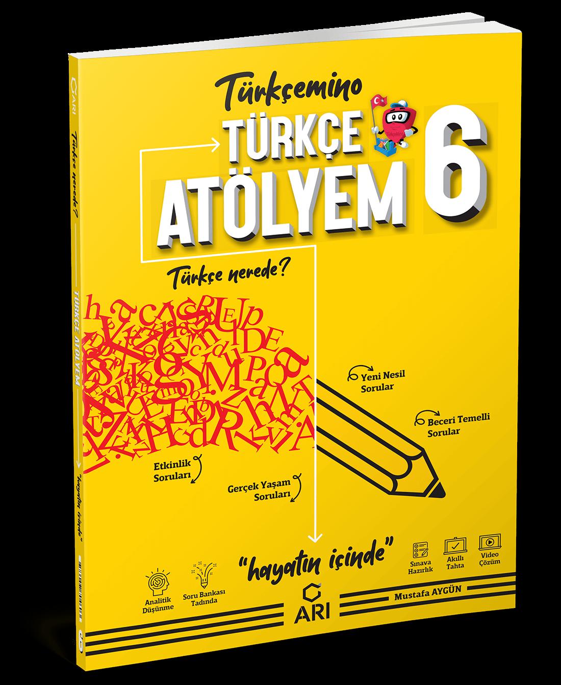 TürkçeMino Türkçe Atölyem 6. Sınıf