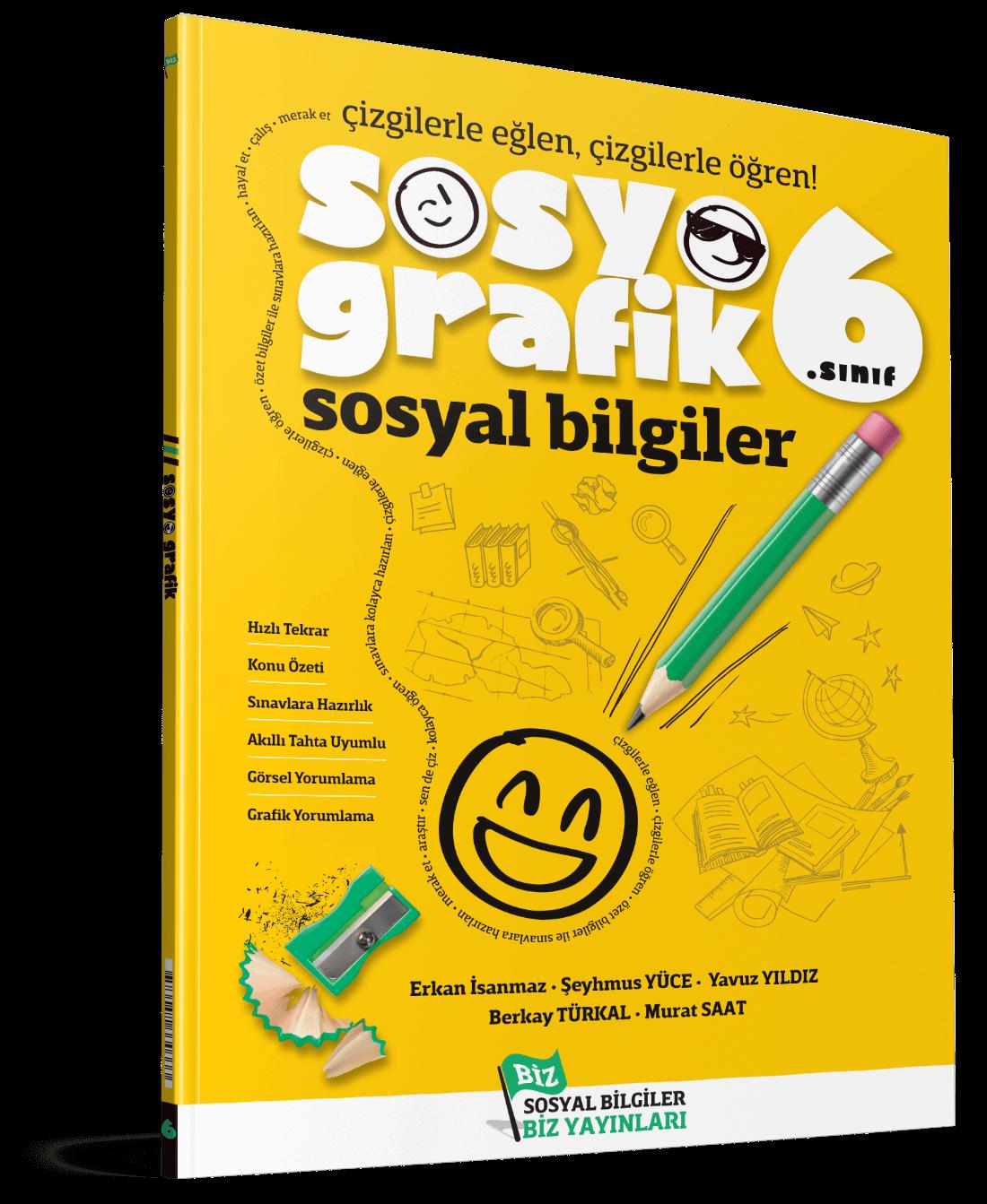 Sosyografik Sosyal Bilgiler 6. Sınıf