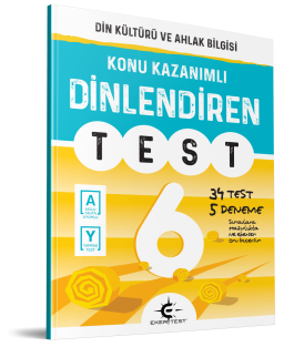 Eker Test – DİNlendiren Test 6. Sınıf