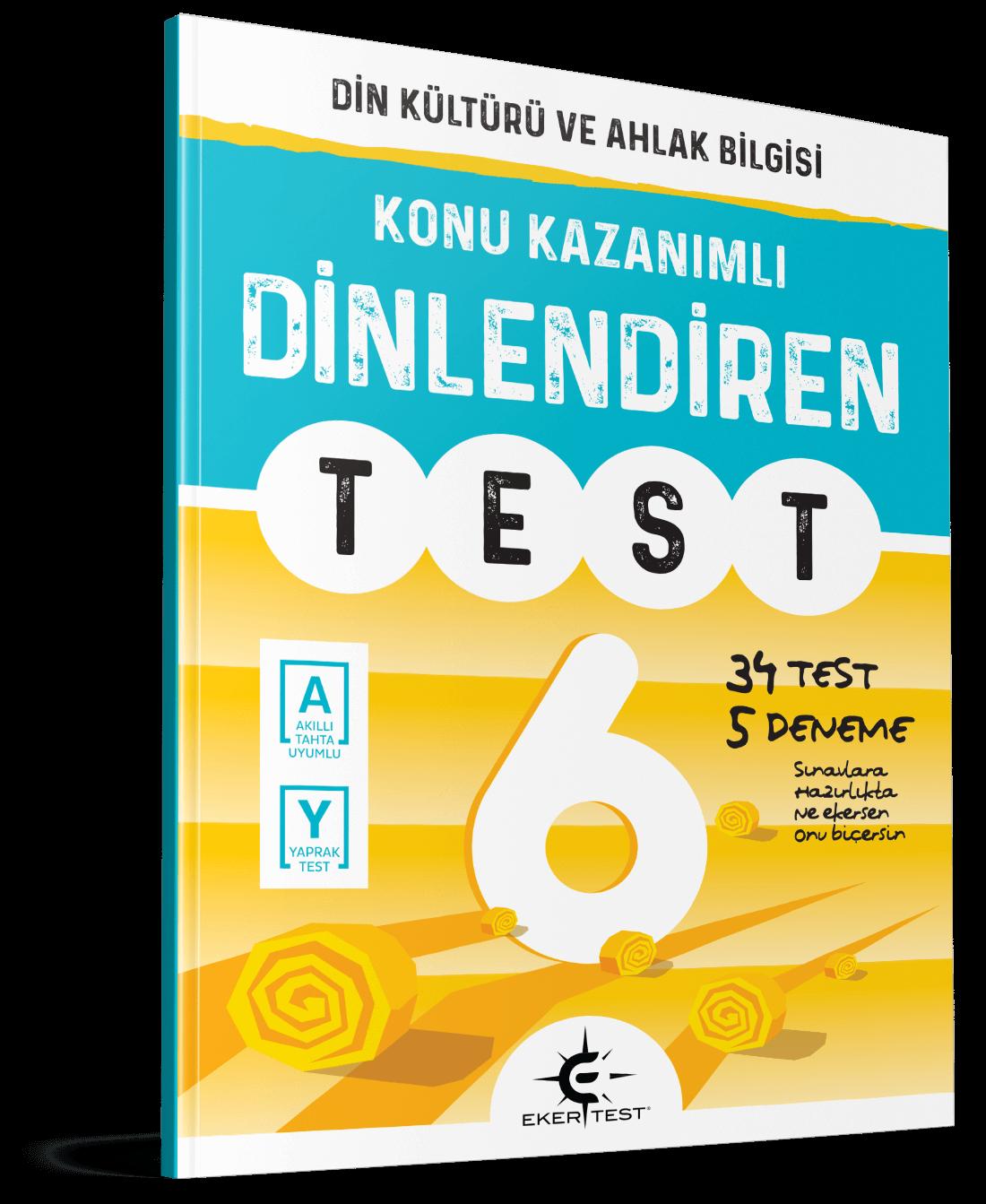 6. Sınıf Dinlediren Test Eker Test Yayınları