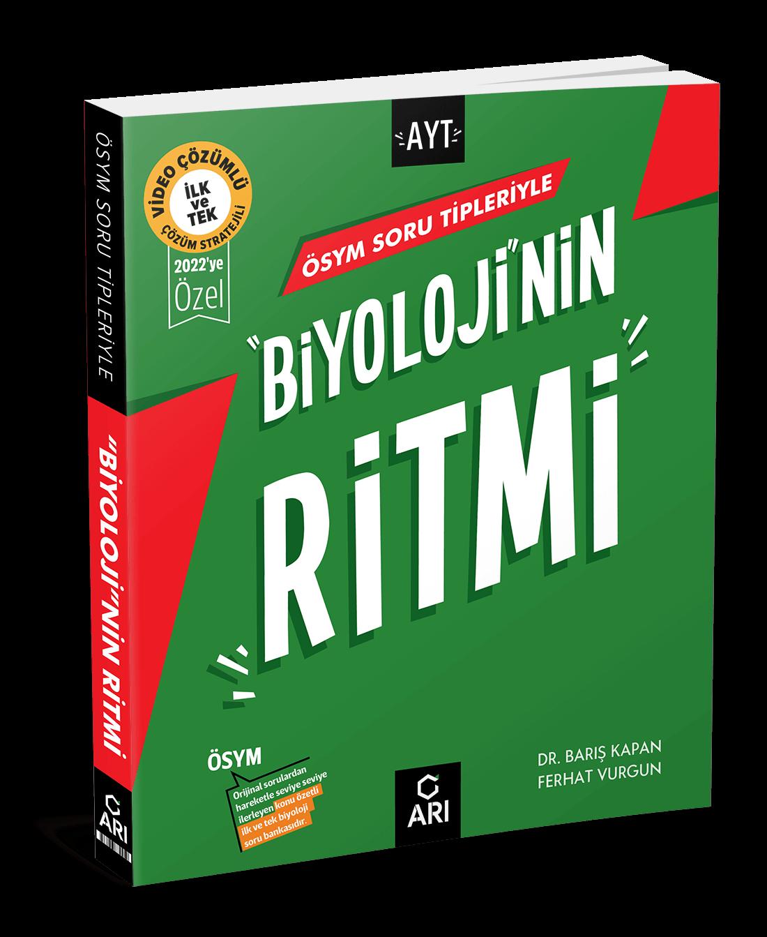 """""""Biyoloji""""nin Ritmi (AYT Hazırlık)"""